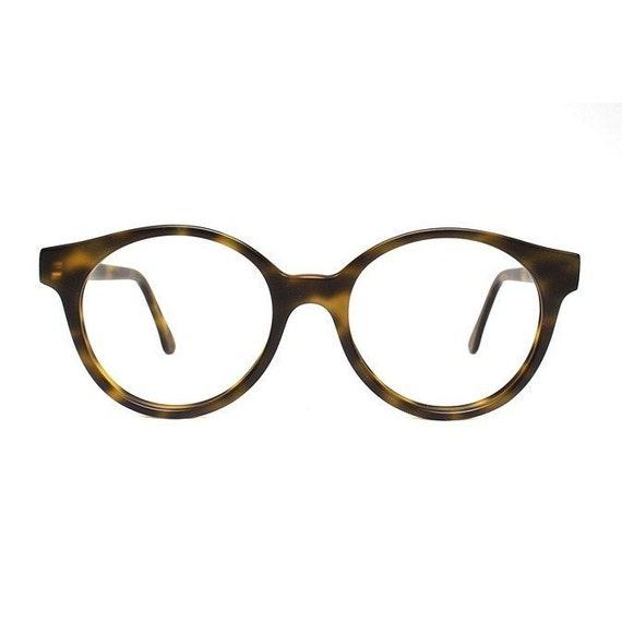 Jade Green Eyeglass Frames : jade brown tortoise vintage eyeglasses oversized round
