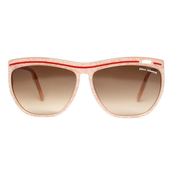Paco Rabanne pink designer Vintage Sunglasses