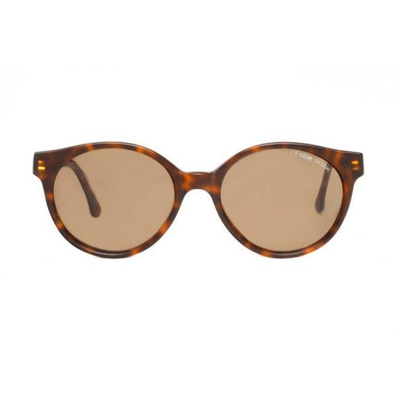 Tortoise Brown Matte Vintage Sunglasses - L.A. Gear Private Dancer