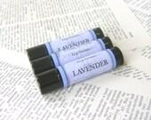 Lavender Lip Balm, All Natural Beeswax Balm with Jojoba and Shea