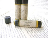 Scotch Lip Balm, Scotch Whiskey Lip Balm with Shea and Cocoa Butter