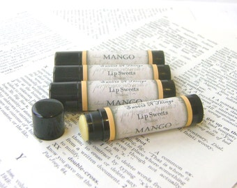 Mango Lip Balm with Jojoba and Cocoa Butter