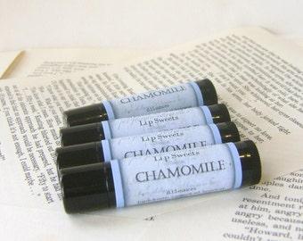 Chamomile Lip Balm with Shea and Cocoa Butter