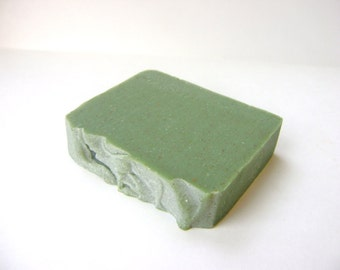 All Natural Lime Scrubby Soap with Pumice bar soap