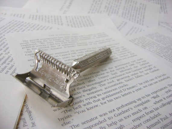 Vintage Razor, Ever-Ready Patent 1912 Made in England, 1930's