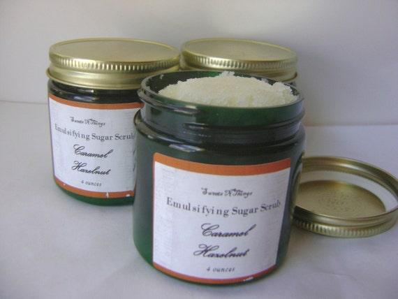 Sugar Scrub, Caramel Hazelnut