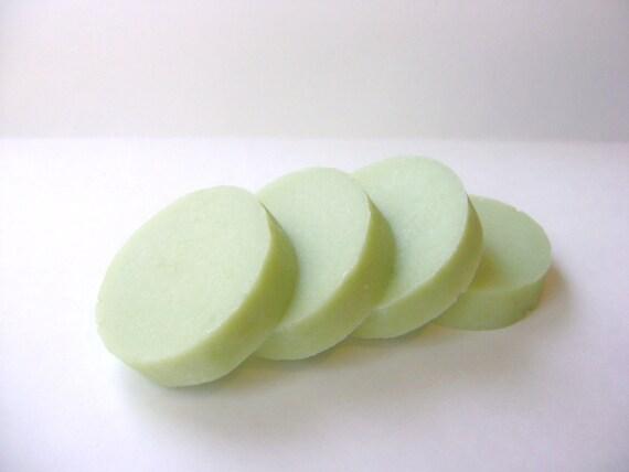 Shaving Soap, Cucumber Lime Handmade Shaving Soap with Tallow and Lanolin for Men