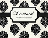Reserved for Misti...French Provintial Chalkboard, Hollywood Regency, Ornate Frame, Baroque