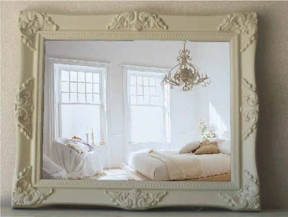 Ornate Mirror, Vintage Shabby Chic, Cottage Chic