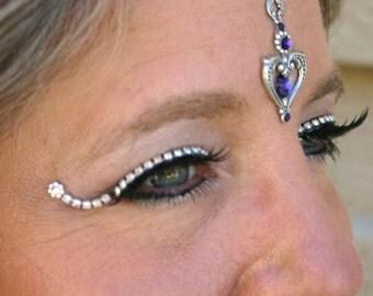 Jeweled False Eyelashes