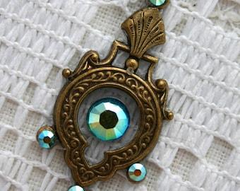 Bindi in Oxidized Brass