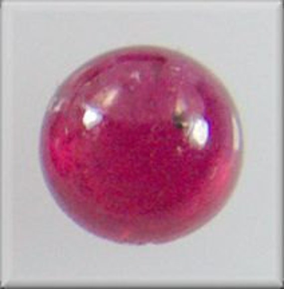 4601 - CABOCHON -   5mm Strong Red Ruby Cab
