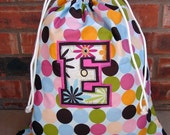 Three Layer Custom Initial Applique - Added to any Goodnight Bag