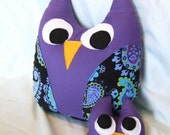 Mommy and Baby Owl Plush Toy