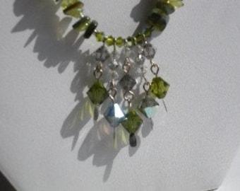 Green Goddess Necklace Set