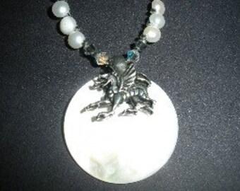 Dragon Moon Necklace Set