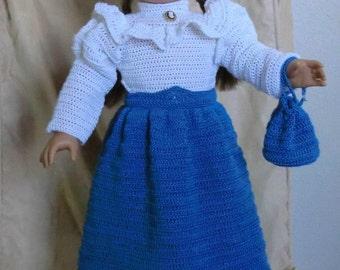 121 Victorian Set - Crochet Pattern for American Girl Dolls