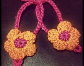 Flower Shaped Baby Barefoot Sandals - Made To Order