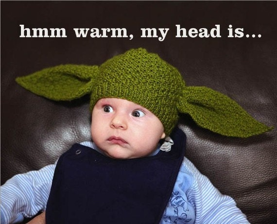 Toddler Yoda beanie - Star Wars (12-24 months)