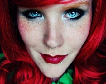 SALE Long Red wig | Curly Auburn wig | Cosplay wig, Halloween wig | Ivy