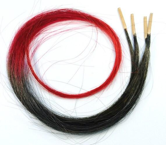 Firebolt // I tip Human Hair Extensions / Pre-bonded Keratin / Tie Dye Hair