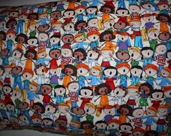Children singing pillowcase, junior size, music