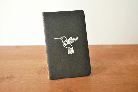 black journal: hummingbird