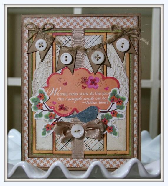 Smiling Bird Card