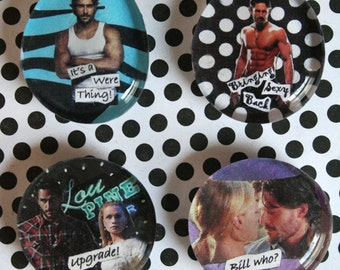 True Blood Magnets-Team Alcide