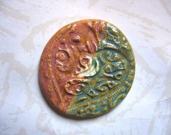 The Unusual - Wild Heart Ceramic Pendant