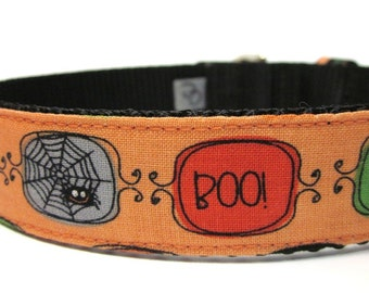 Custom Dog Collar- Boo To You Halloween