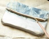 PAZ CLUTCH--zip pouch