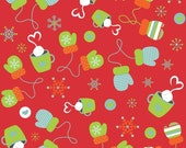 CLEARANCE SALE - Riley Blake Designs Colorful Christmas by My Mind's eye - 3/4 Yard