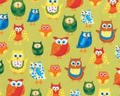Ellen Crimi-Trent Owls Woodland Friends II - 1 Yard
