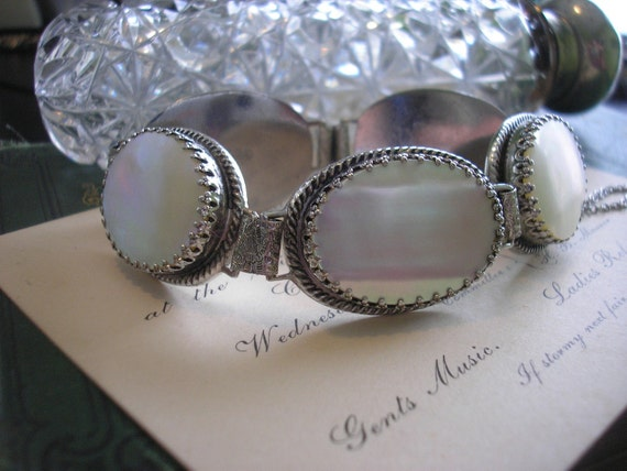 Vintage Whiting And Davis Mother Of Pearl By