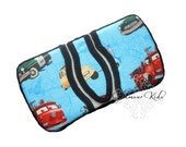 CLEARANCE baby boy wipe case. cars wipe cases. flip top travel boutique wipe case