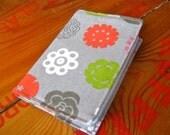 Gray Linen Passport Cover