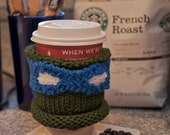 Teenage Mutant Ninja Turtle Coffee Cozy  - Leonardo