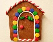 Gingerbread Winter Elf Door