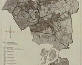 Queens New York Map 1918