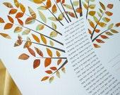 Ketubah - Fall Tree of Li...