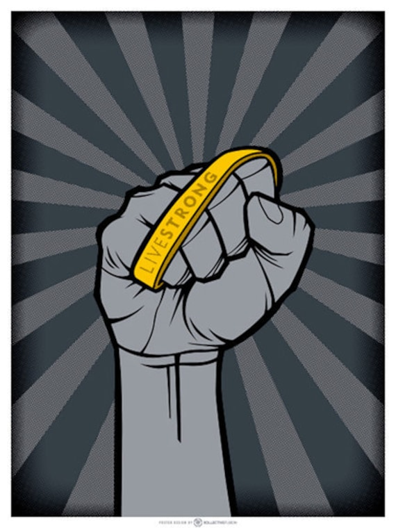 2011 Livestrong poster by Kollective Fusion