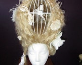 Wig, Birdcage, 18th century inspired, reenactment RESERVED