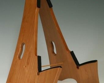 Cherry wood, Slay-Frame wood guitar stand