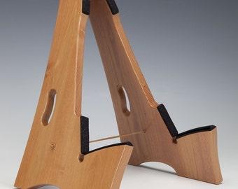 Honey Locust, Slay-Frame wooden guitar stand