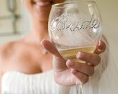 Bride Wine Glass- Wedding