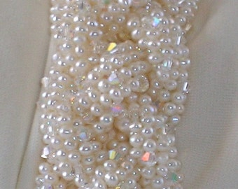 Celtic pearl bracelet