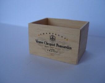 Miniature champagne crate