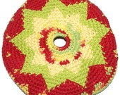 Frisbee Flying Disc Star Cotton Crochet