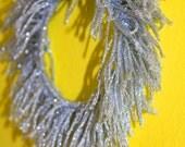 Silver Sparkle fringe bangle bracelet party upcycled dangle accessorty sparkler celebrate
